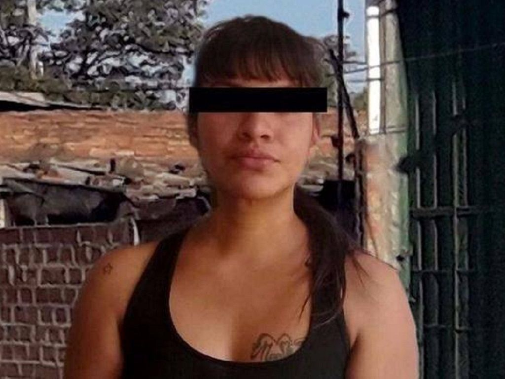 Mujer detenida en San Pedro