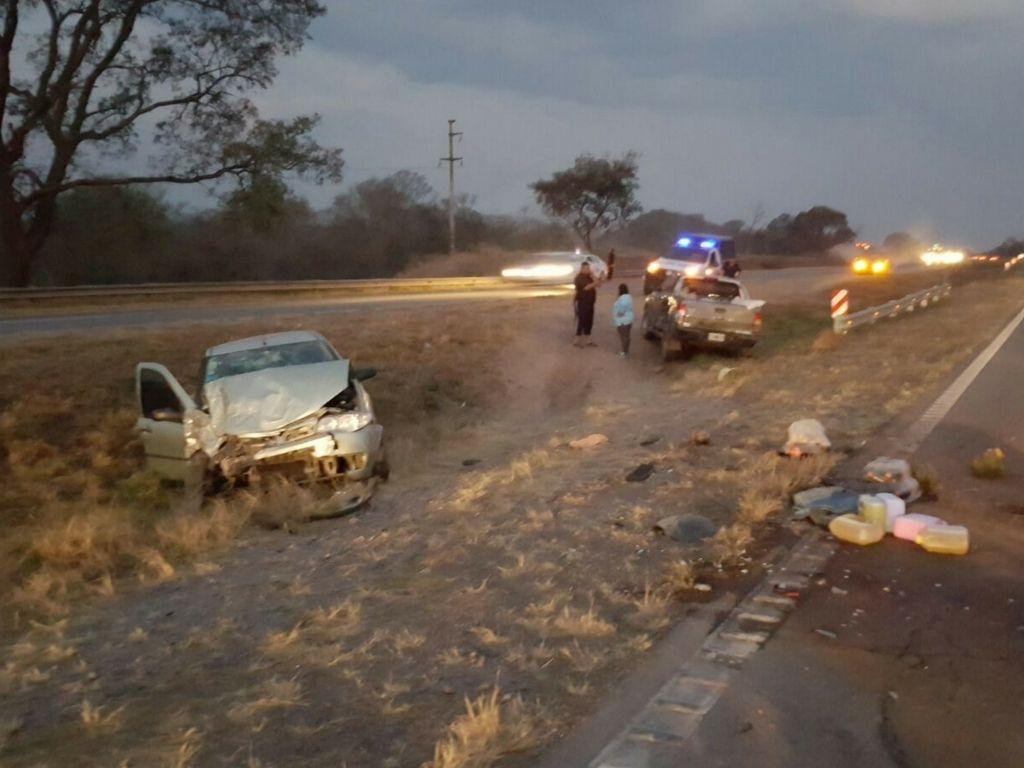 Accidente ruta 66