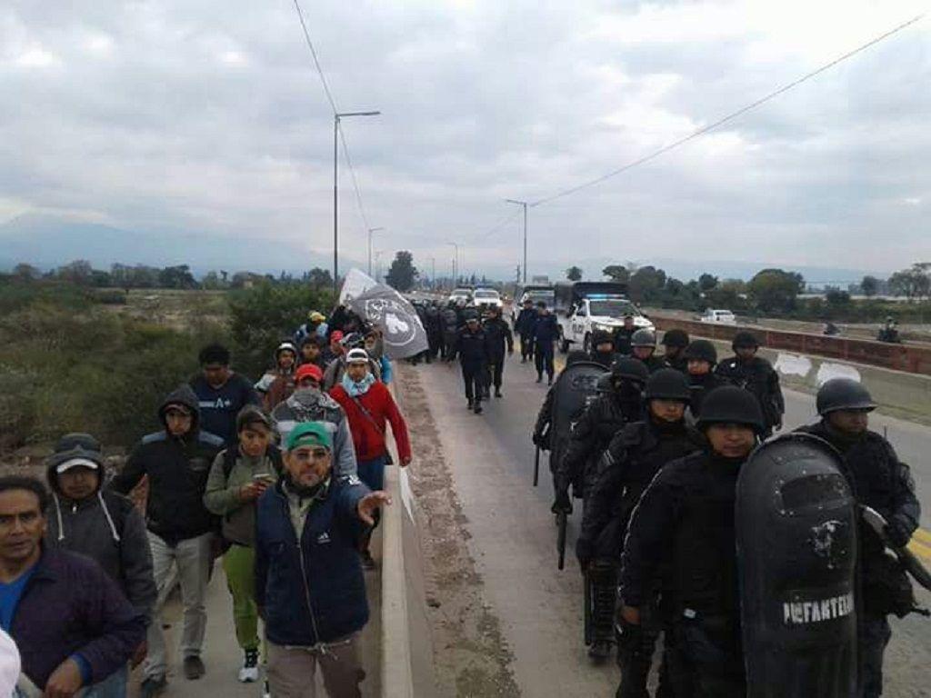Diez detenidos en marcha del SEOM