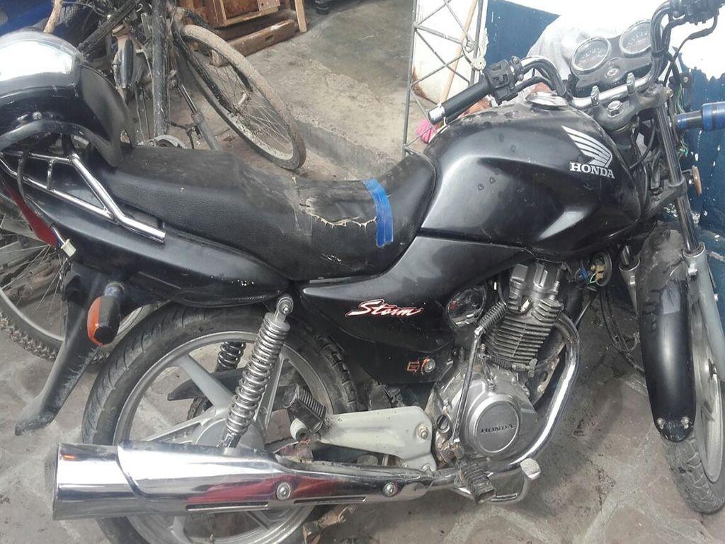 Recuperan motos robadas