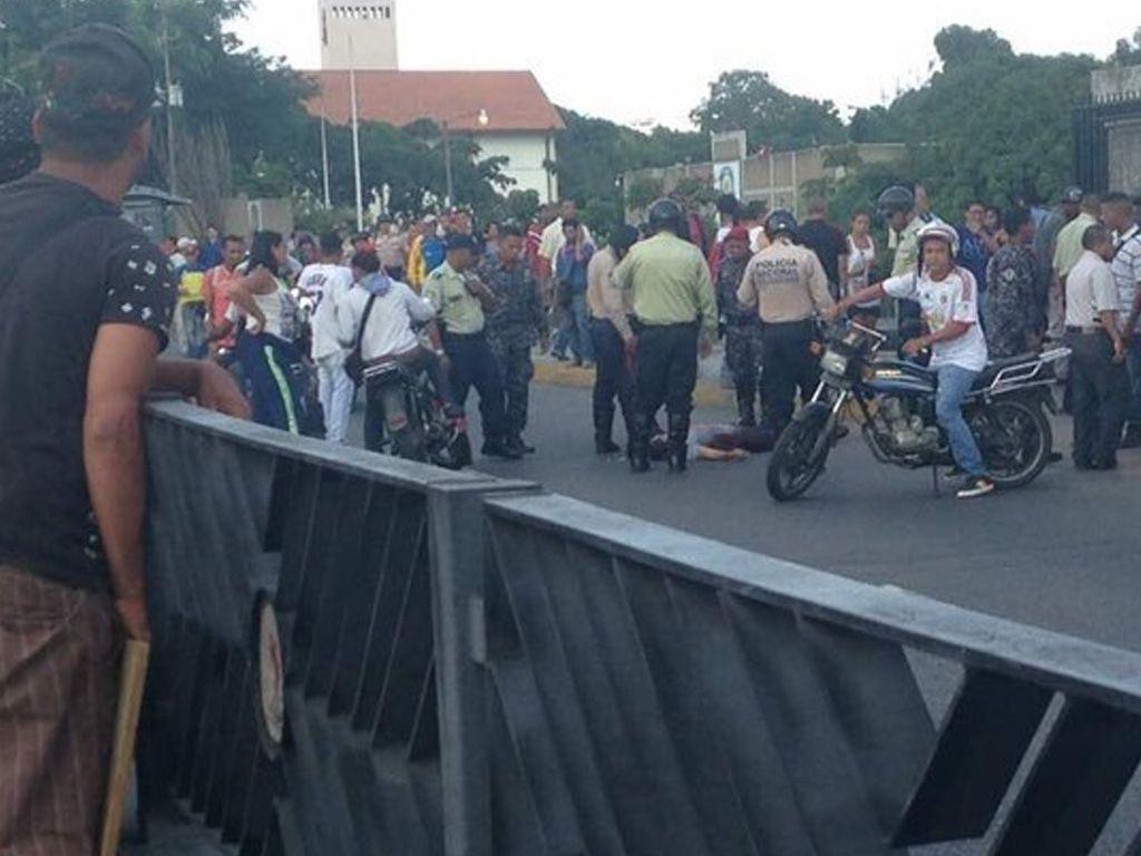 Otro muerto en Caracas