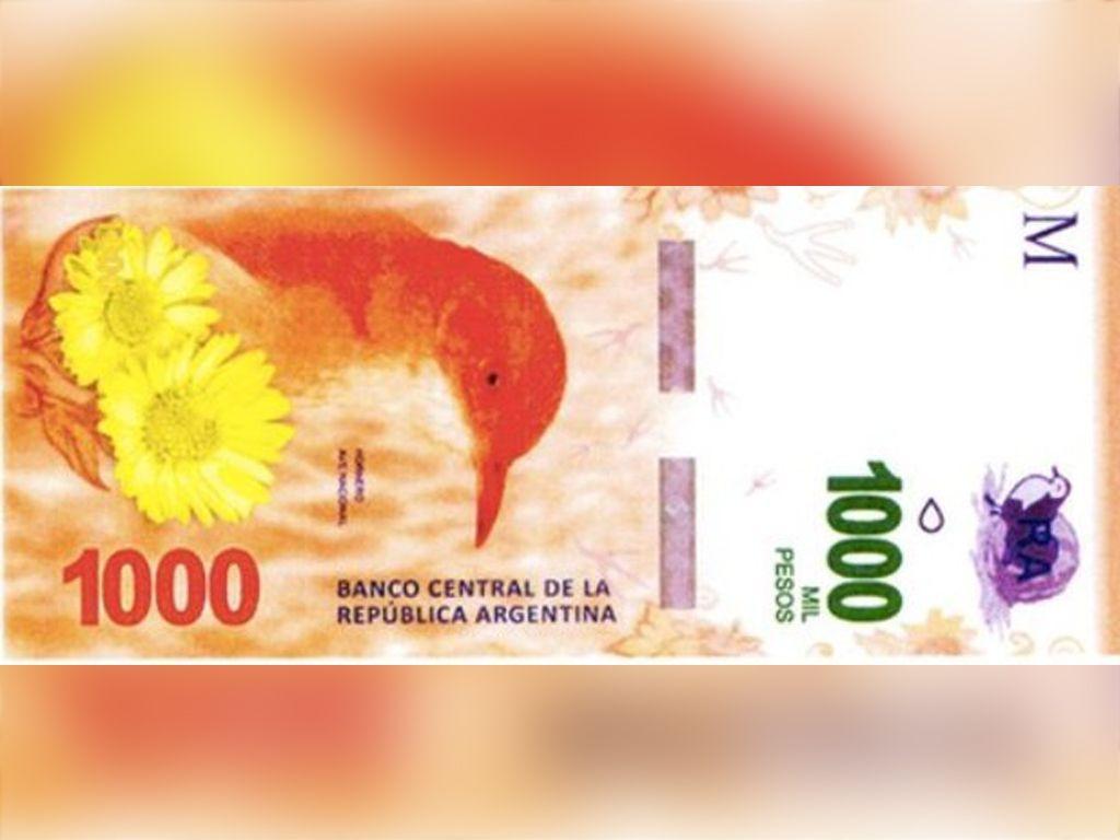 Billete de $1000