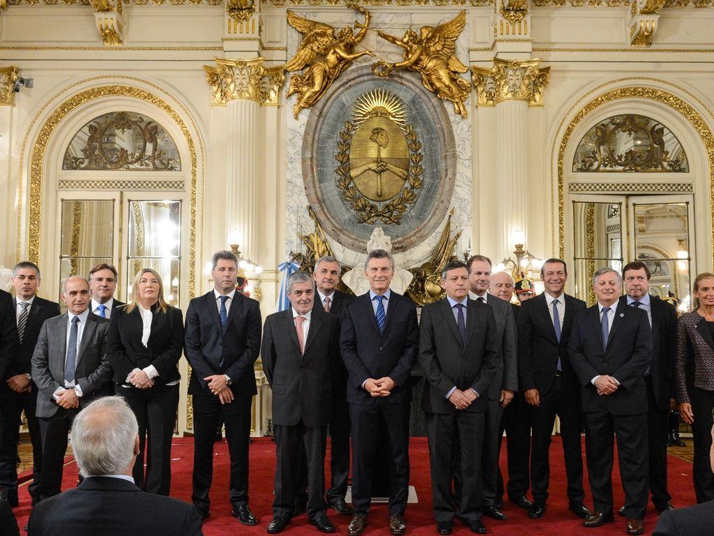 Morales con Macri