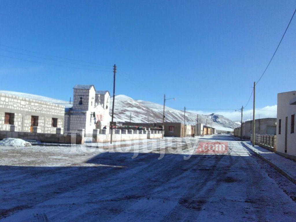 Nieve en Catua