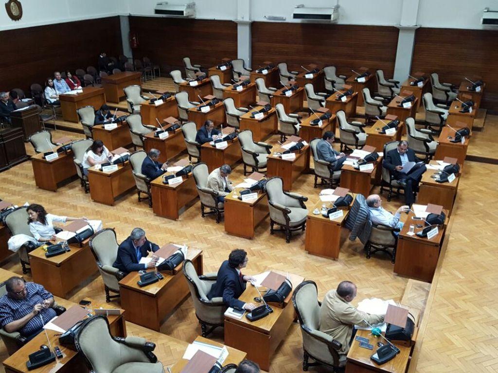 Segunda sesión en la Legislatura
