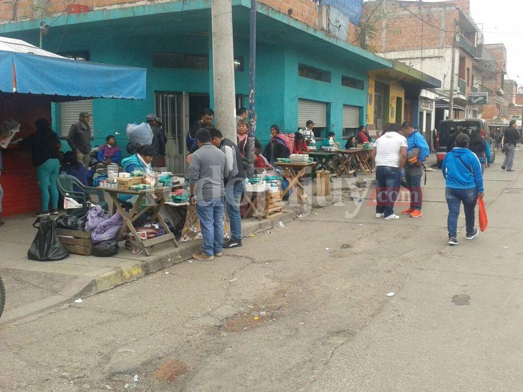 Ambulantes en la Santiago del Estero