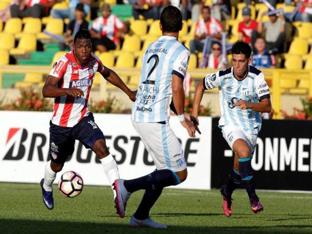 Perdió Atlético en Colombia