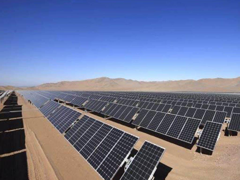 Parque solar en la Puna - archivo