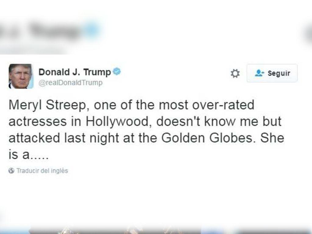 Twit de Donal Trump