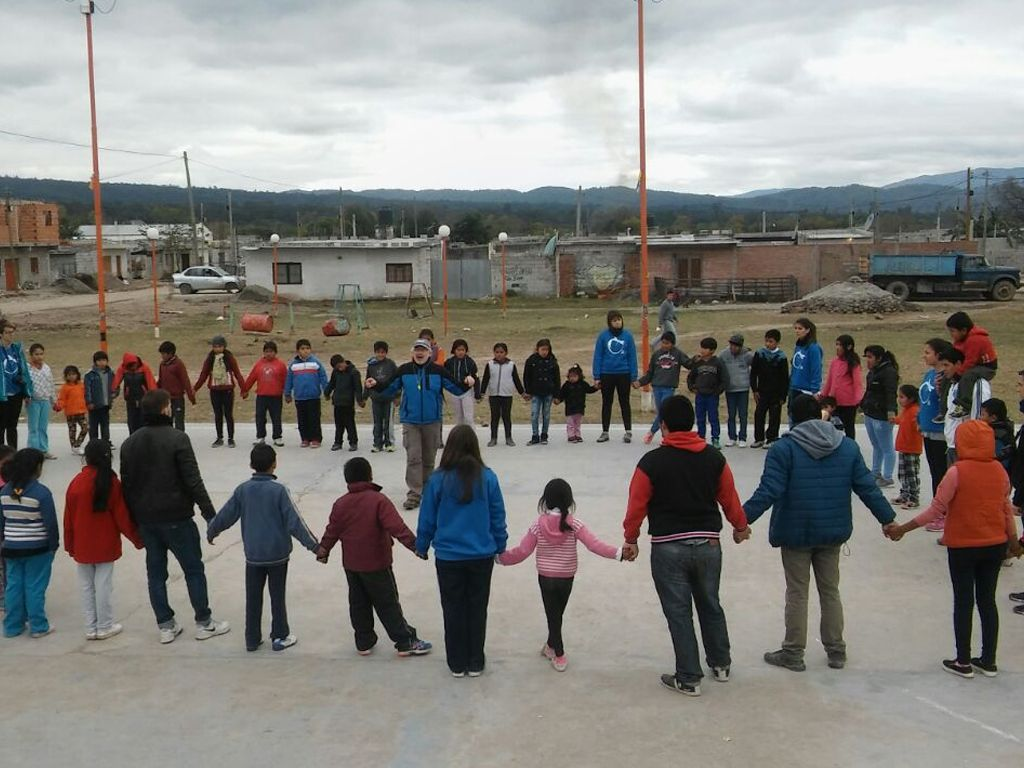 Voluntarios en Malvinas Argentinas