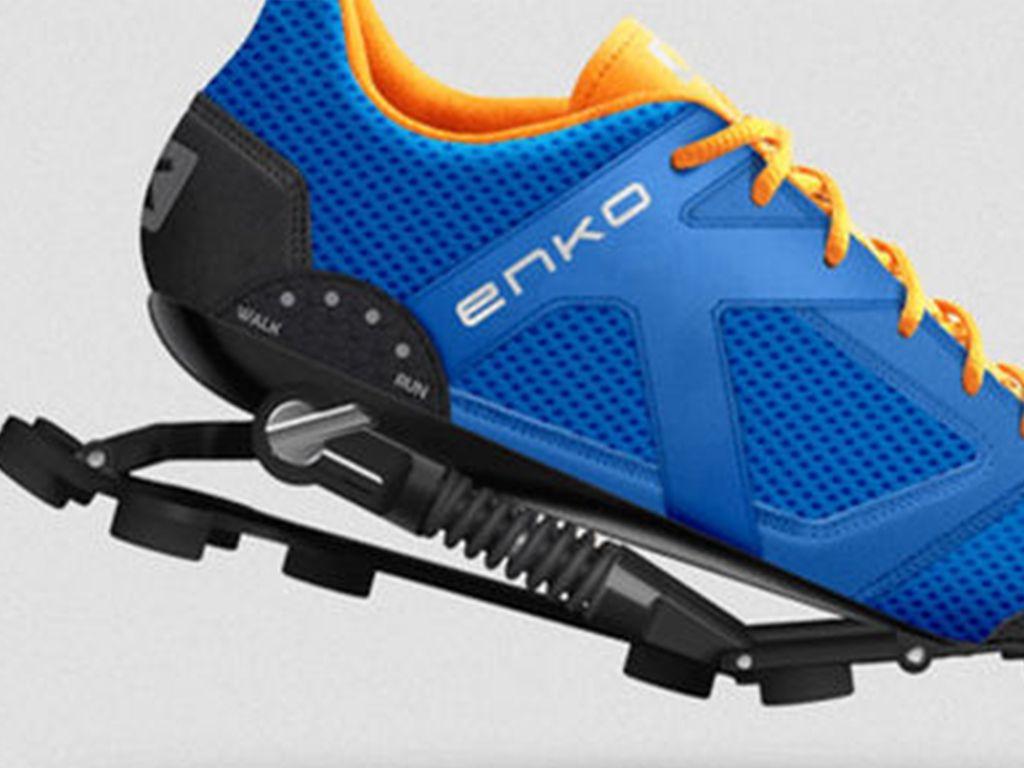 Lo que faltaba  zapatillas con amortiguadores 79e9f49a40e61