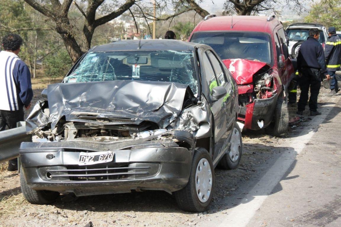 Accidente en Ruta 9