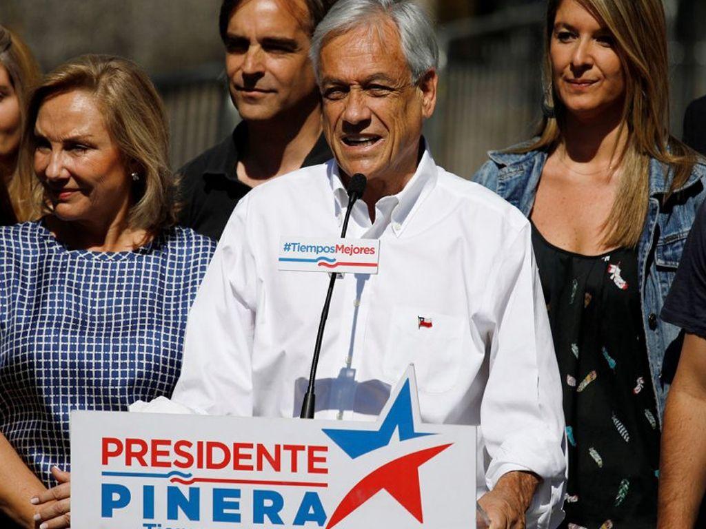 Chile: ganó Piñera pero no pudo evitar la segunda vuelta ante Guillier