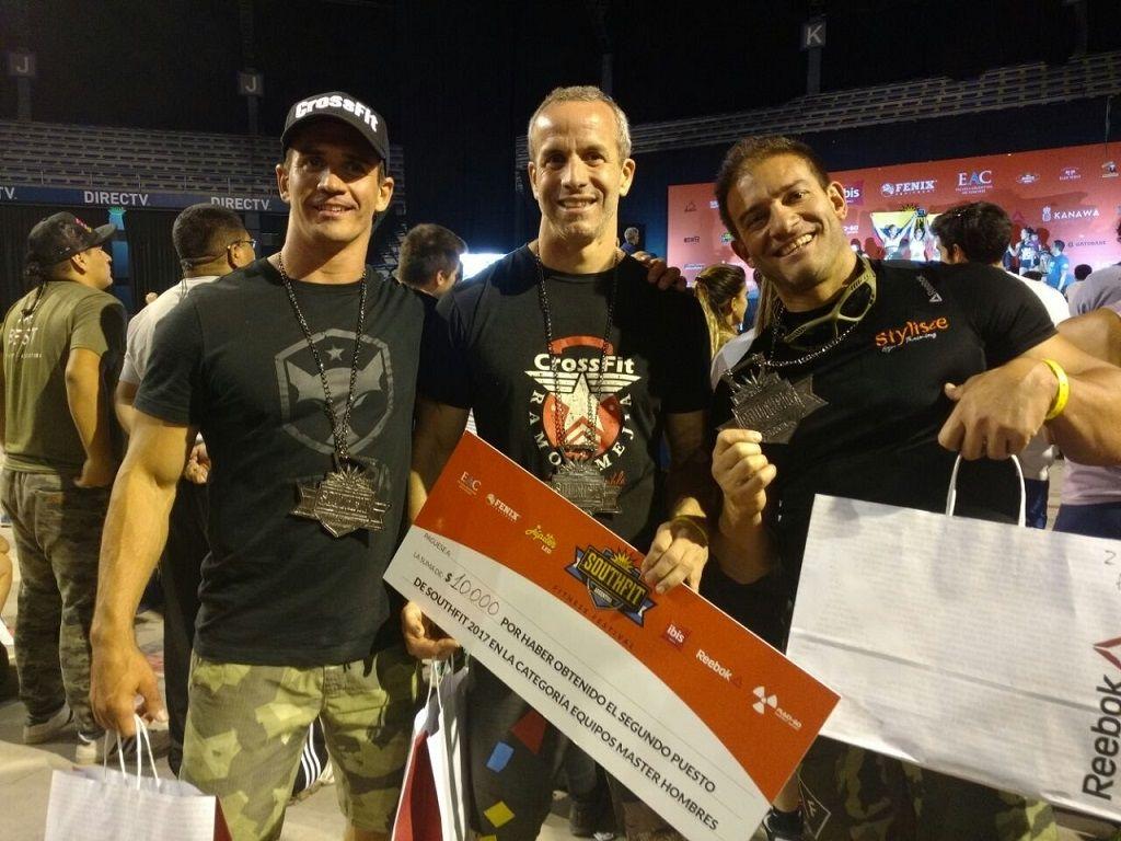 Crossfit: Gansslen puso a Jujuy en el podio del Southfit 2017