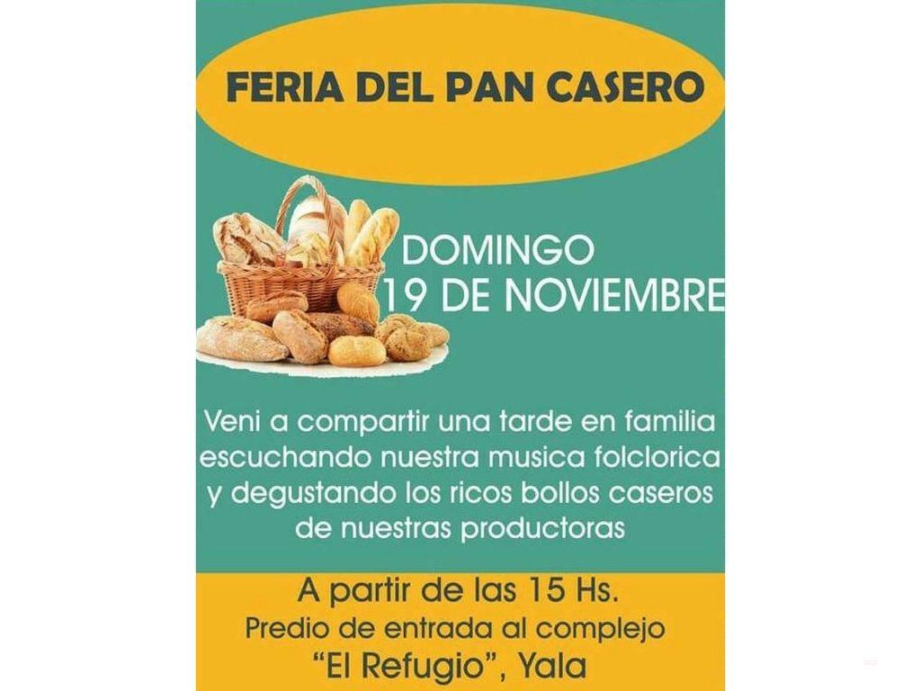Preparate para una nueva edición de la Feria del Pan Casero