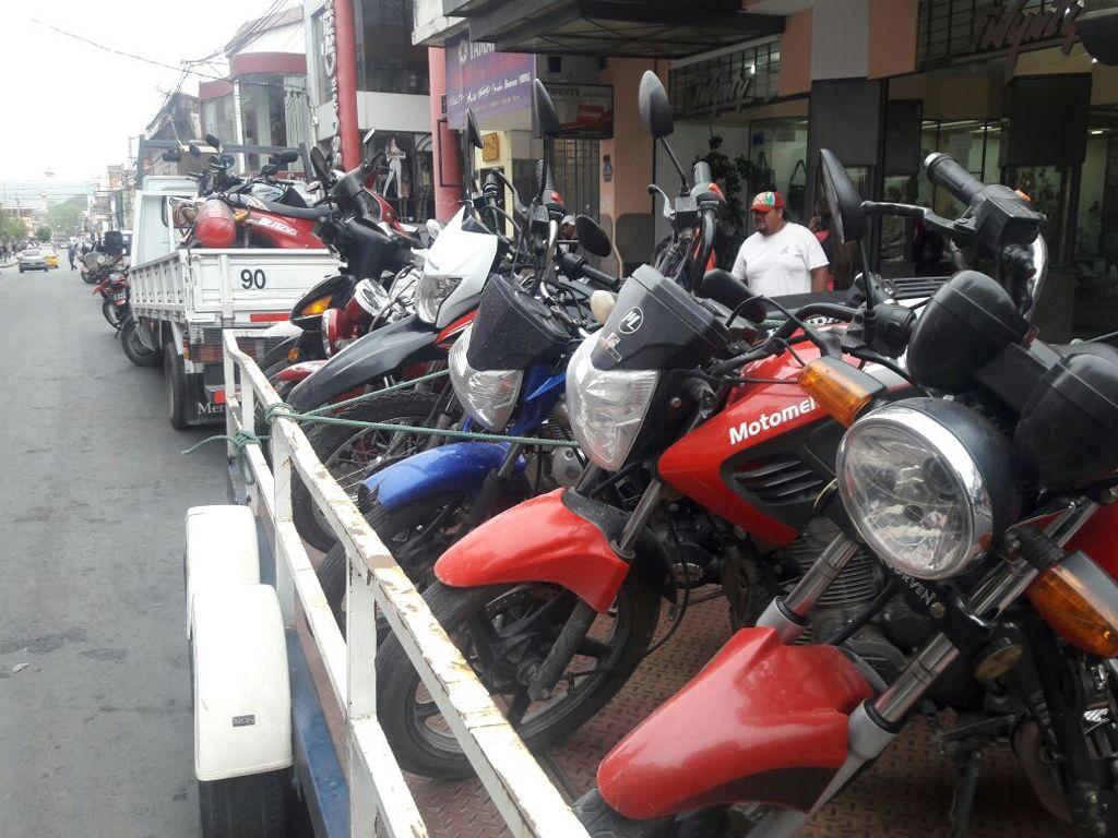 En la ciudad se retienen 20 motos por hora en los operativos de control