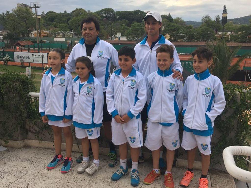 Jujuy dirá presente en el Nacional de Tenis Sub-10