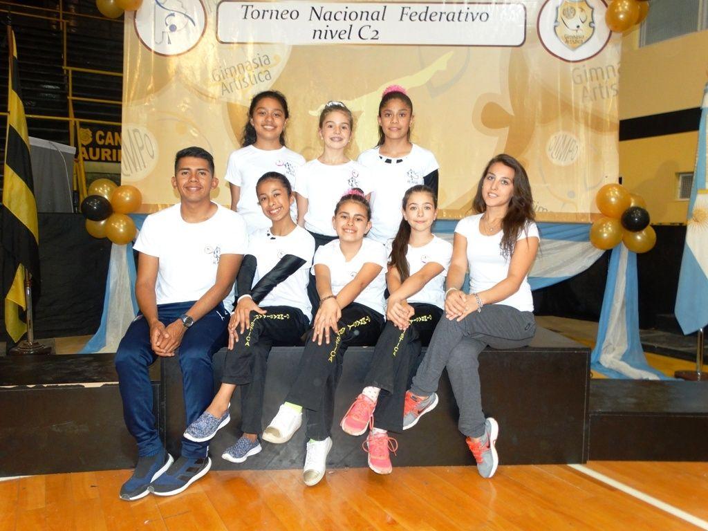 Gimnasia Artística: Jujuy estuvo en el Nacional Federativo