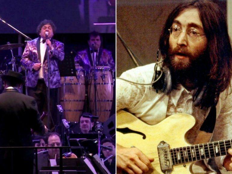 John Lennon y Los Palmera juntos