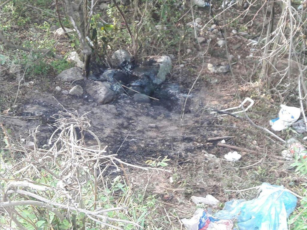 Los vecinos denuncian que el lugar donde apareció la mujer quemada es muy inseguro