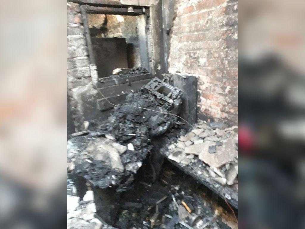 Se les incendió la casa y perdieron todo
