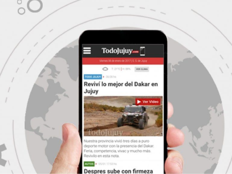 TodoJujuy.com se renueva y estrena un nuevo diseño con mejor tecnología mobile