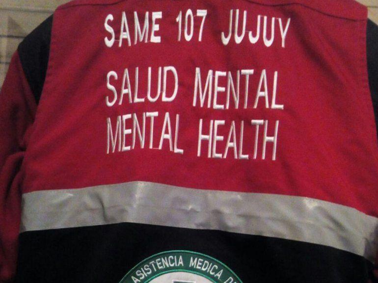 SAME: único sistema de emergencia del país con equipo de salud mental