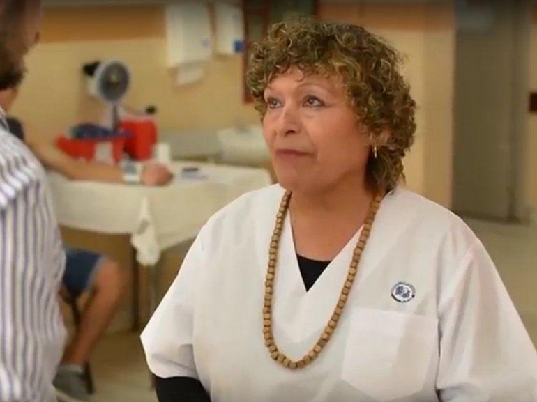 40 años dedicada a su vocación de enfermera