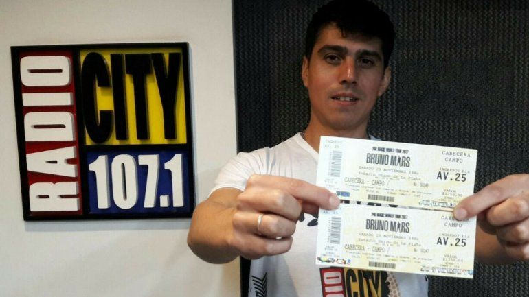 Matias es el ganador del RadioCity FanTour