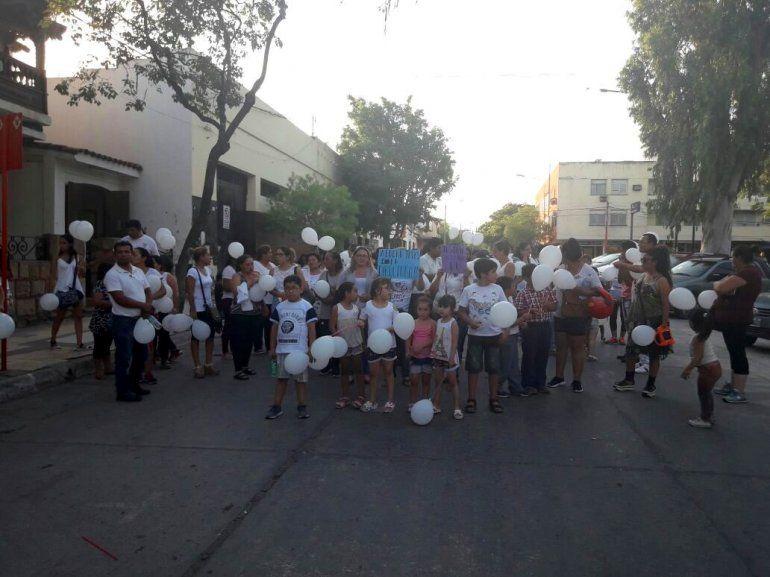 San Pedro marchó en contra del maestro acusado de abusar a un alumno de 7 años