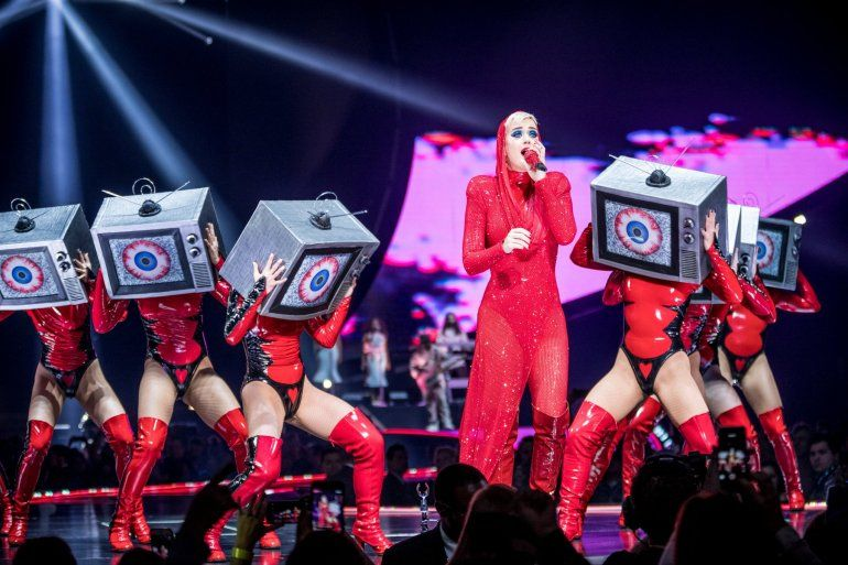 Katy Perry llega a nuestro pais con Witness: The Tour.