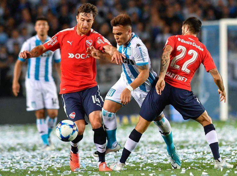 Clásico para el rojo: Independiente venció por 1 a 0 a Racing