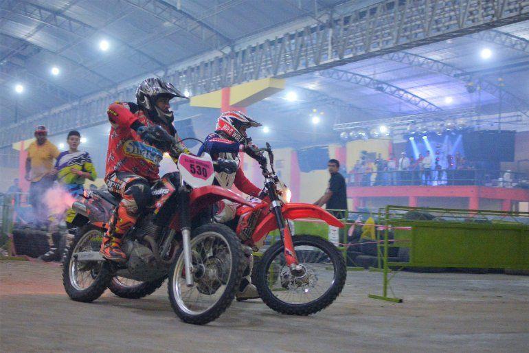 Instalarán un circuito de motocross y enduro para capacitar personal en Río Blanco