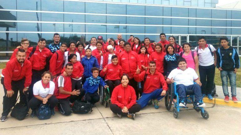 Seis medallas para los jujeños en los Juegos Evita en atletismo adaptado