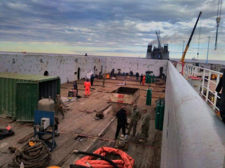 ARA San Juan: el minisubmarino llega después del mediodía al lugar de la búsqueda