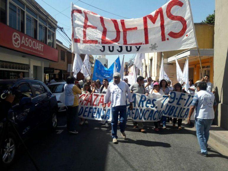 Reforma previsional: Gremios docentes anunciaron medidas para mañana
