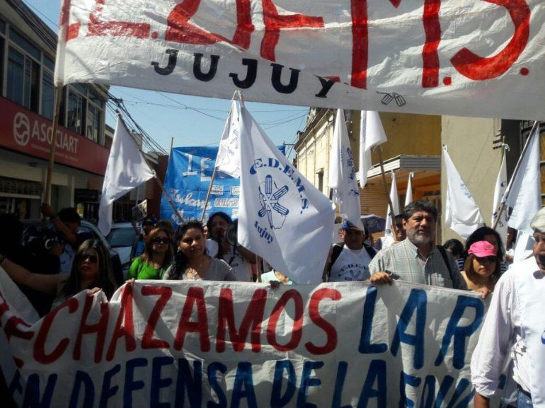 El CEDEMS dispuso paro y movilización, pero el Gobierno dictó la conciliación obligatoria
