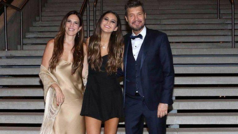 Mirá el look de la familia Tinelli en el 15 de Juanita