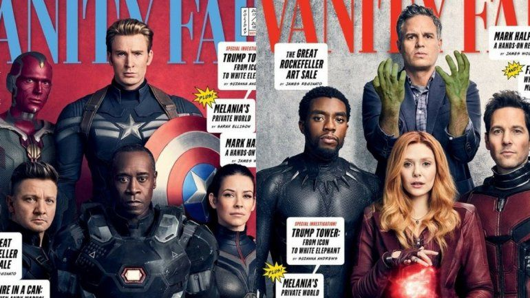 Presentaron a todos los superhéroes de la próxima película de Los Vengadores