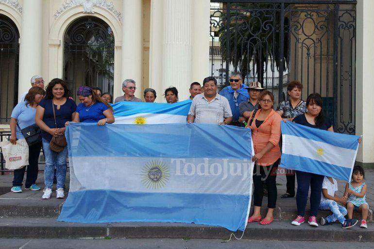 Jujuy homenajeo a los 44 tripulantes del submarino ARA San Juan