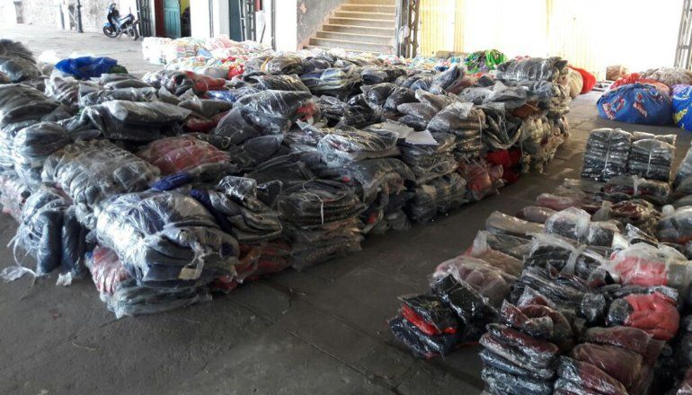 Mercadería por el valor de un millón de pesos quedará en manos del Ministerio de Desarrollo Social