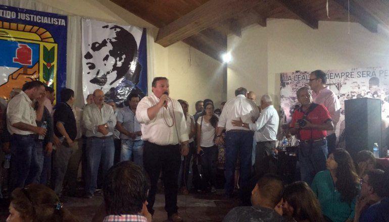 El PJ celebra con un gran acto la asunción de sus nuevas autoridades con Rivarola a la cabeza