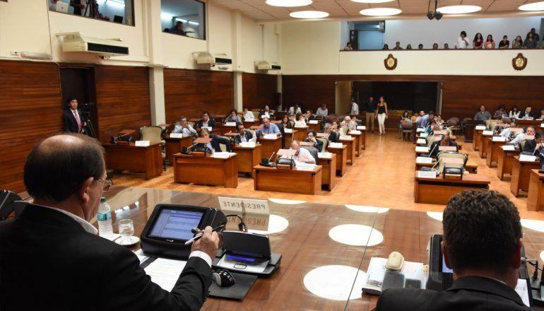 Ahora es el turno de la legislatura: tratarán esta tarde su presupuesto para el 2018