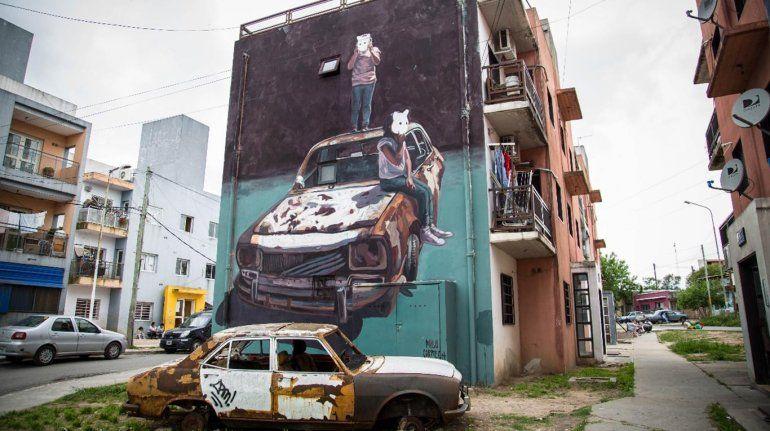 Un mural de nuestro país fue elegido como uno de los mejores del mundo