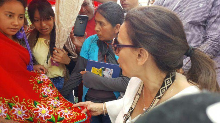 Michetti se reunió con artesanos textil en Tilcara: queremos generar empleos con mano de obra intensiva