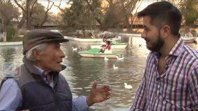 La historia de esfuerzo y dedicación de Gareca, el creador del lago Popeye