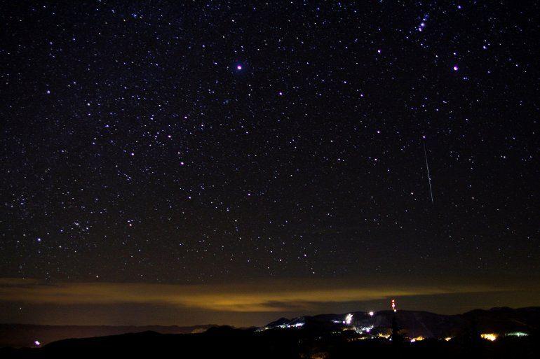 Llegó el día en que se podrá apreciar la última lluvia de estrellas del año