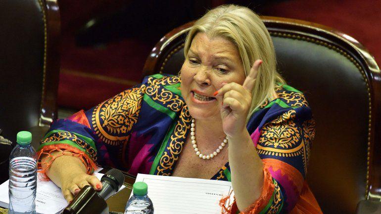 Lilita Carrió denunció un golpe cambiario para destituir a Mauricio Macri