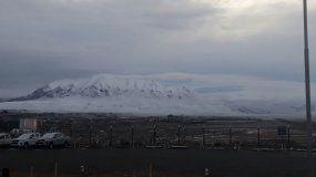 Aunque parezca difícil de creer, Pirquitas amaneció todo nevado a días del inicio del verano