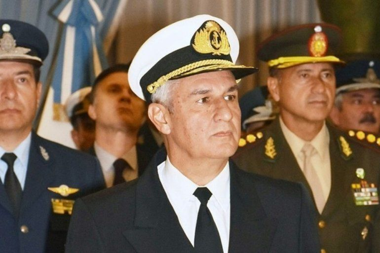Hoy asume el nuevo jefe temporario de la Armada